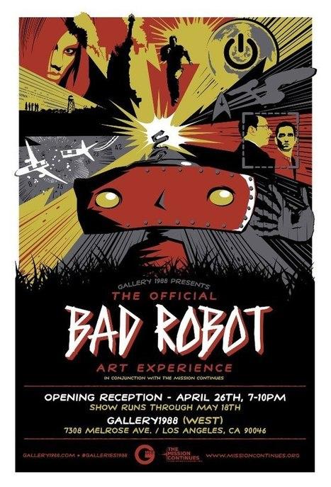Gallery 1988 – Bad Robot Artshow | All Geeks | Scoop.it