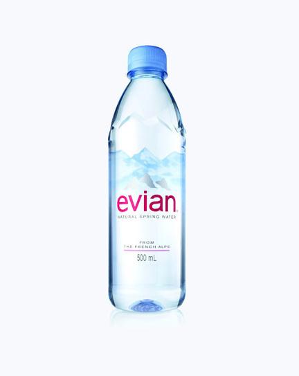 Creative Package Design : evian Natural Spring Water Debuts New Bottle Design   Art, Design & Technology   Scoop.it