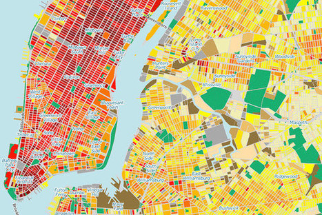 New York City Energy Use All Over the Map | green infographics | Scoop.it