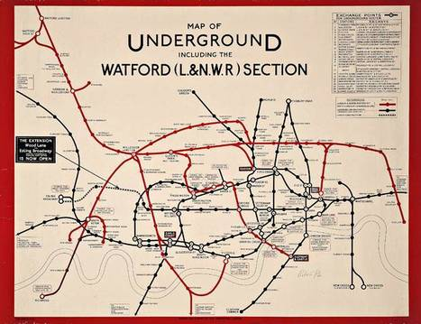 Christie's is selling a collection of iconic London Underground posters dir | Geography In the News | Scoop.it