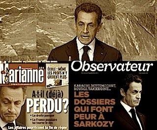 Sarkozy et ses porteurs de valises- Dazibaoueb   Le Dazibao - Territoire autonome   Scoop.it