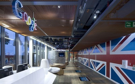 Inside Google's quirky new London headquarters - Telegraph | Collaboration | Scoop.it