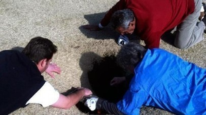 Video: St. Louis Man Swallowed Into 14th Golf Hole By 18ft Deep Sinkhole | Littlebytesnews Current Events | Scoop.it