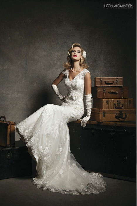 Fashion Friday: Justin Alexander's 2013 Preview - Project Wedding Blog | Fashionability | Scoop.it
