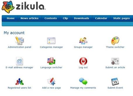 Logiciel gratuit framework Zikula 1.3.5 Fr 2013 licence gratuite - Site Web - Webmaster | Logiciel Gratuit Licence Gratuite | Scoop.it