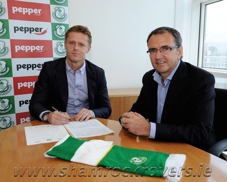 Damien Duff joins Shamrock Rovers | Diverse Eireann- Sports culture and travel | Scoop.it