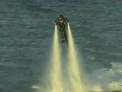 Energy Drink Hires Man In Jet Pack To Fly Around As 'World's Most Expensive Billboard'—Here's Today's Ad Brief | TheBottomlineNow | Scoop.it