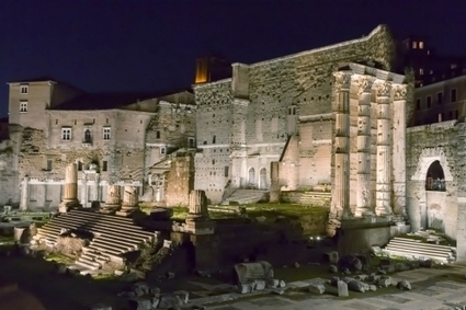 ERCO provides LED architectural lighting for the ancient Imperial Forums in Rome | HotelRomanceRome | Scoop.it