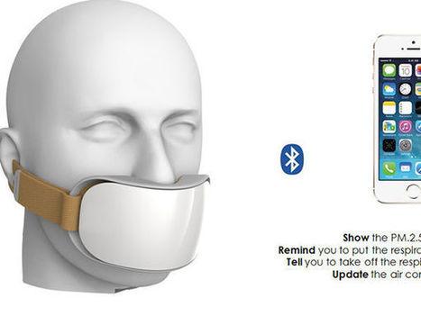 Un masque connecté pour mieux lutter contre la pollution | Evénementiel & digital | Scoop.it
