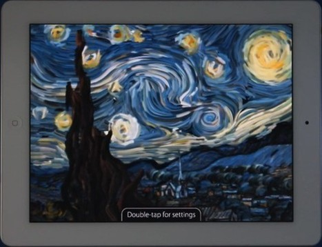 "PSA: Interactive Starry Night now available for the iPad (video) | ""iPads for learning"" 