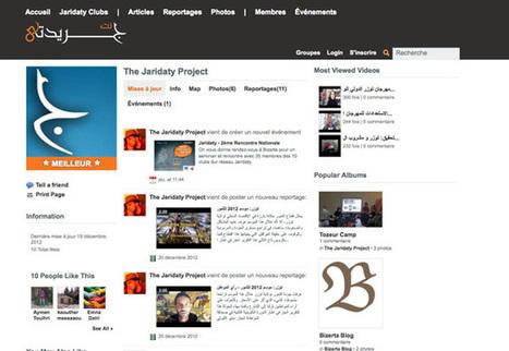 Tunisie : lancement de Jaridaty, premier réseau social dédié au journalisme-citoyen - Agence française de coopération médias | Pratiques journalistiques - Monde arabe | Scoop.it