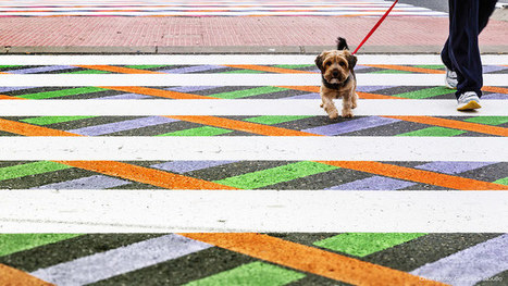 Madrid's Crosswalks Are Getting a Fun and Colorful Makeover | Le It e Amo ✪ | Scoop.it