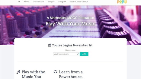 Designing a music production MOOC | 3D design learning | Scoop.it