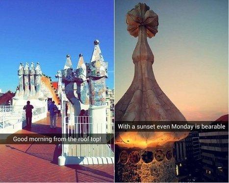 Cómo la Casa Batlló utiliza Snapchat para popularizar el museo | ARTE, ARTISTAS E INNOVACIÓN TECNOLÓGICA | Scoop.it