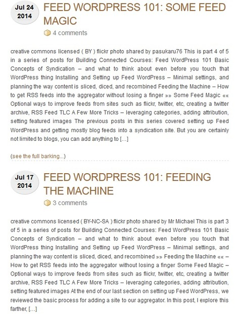 How to use Feed WordPress plugin to run a blog feeded by external RSS (autoblogging) | RSS Circus : veille stratégique, intelligence économique, curation, publication, Web 2.0 | Scoop.it