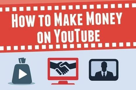 7 Great Strategies For Making Money On YouTube | Work From Home | Scoop.it
