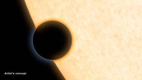 NASA Telescopes Find Clear Skies and Water Vapor on Exoplanet | Space Stuff | Scoop.it