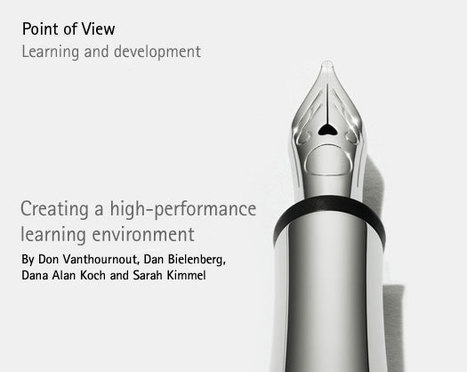 Creating a high-performance learning environment - Accenture Outlook | Educación a Distancia (EaD) | Scoop.it