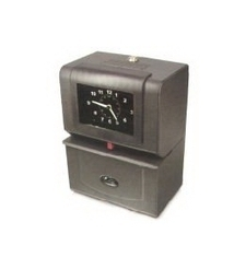Lathem 4000 Series Heavy Duty Analog Automatic Time Recorder Cool Gray 4200 | Time & Attendence System | Scoop.it