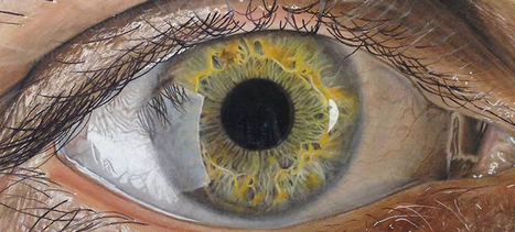 These incredible close-up photos of eyes are actually pencil drawings | Artwork | Scoop.it