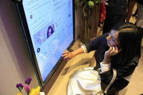 Magasins connectés - board Pinterest | Digital & Retail | Scoop.it