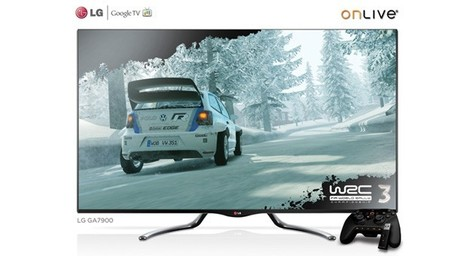 Gamasutra - Press Releases - LG And OnLive To Show The Power Of Integrated, On-Demand Cloud Gaming At CES | Great Geeky Gadgets | Scoop.it