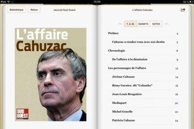 Affaire Cahuzac : quatre mois d'enquête dans un eBook exclusif | Revue des médias | Scoop.it