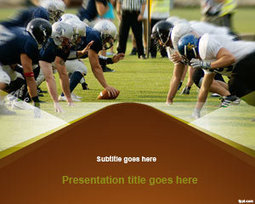 Free NFL PowerPoint Template | Free Powerpoint Templates | Sport PowerPoint Templates | Scoop.it