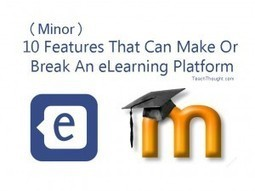 10 Minor Features That Can Make Or Break An eLearning Platform | mOOdle_ation[s] | Scoop.it