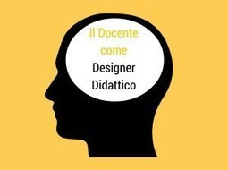 Il docente come designer didattico | iwb's | Scoop.it