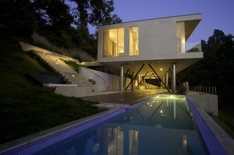 Oakpass Residence by Heusch Architects | PROYECTO ESPACIOS | Scoop.it
