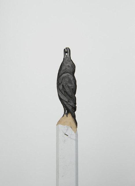 Sculptures de pointes de crayon par Diem Chau - 2Tout2Rien   La minute culturelle de Plumblossom   Scoop.it