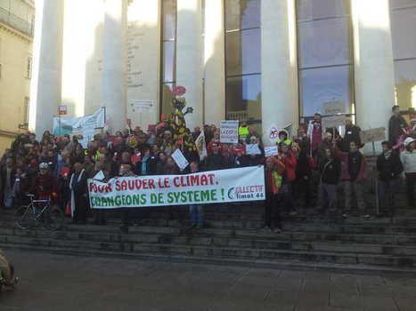 VIDÉO. Nantes : manifestations contre l'accord de la COP21 et l'état d'urgence | NPA 44 - revue de presse | Scoop.it