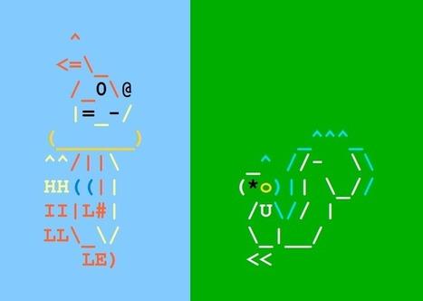 Buizel and Pachirisu in ASCII | ASCII Art | Scoop.it