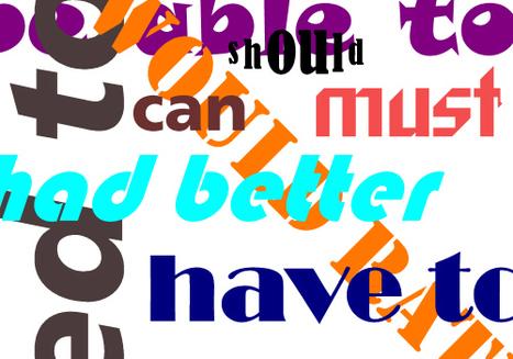 Modal Verbs - English Grammar - e Learn English Language | ESL - Grammar | Scoop.it