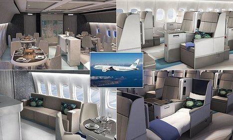 A look inside the world's most luxurious commercial jet   Chain Letters from above   Scoop.it
