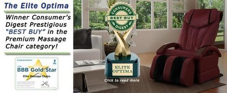 Elite Massage Chairs Voted Best Massage Chair | Chair Massage - Ease Your Pain in an Instant | Scoop.it