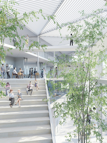 [Campus Paris-Saclay] Equipo liderado por Sou Fujimoto diseñará Centro de Aprendizaje de Ecole Polytechnique en Paris | The Architecture of the City | Scoop.it