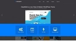 CleanPort - A Stylish Business WordPress Theme | Free & Premium WordPress Themes | Scoop.it