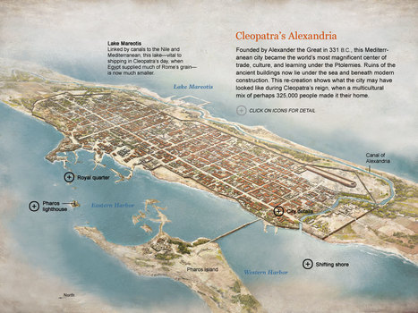 Cleopatra - Map: Cleopatra's Alexandria | Égypt-actus | Scoop.it