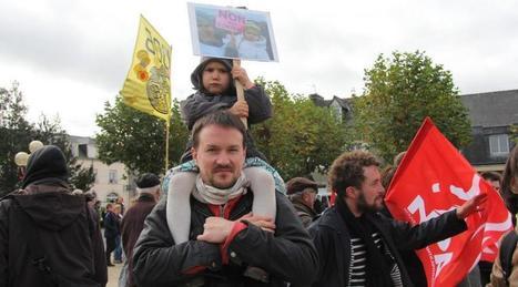 Landivisiau. Un millier de personnes contre la centrale à gaz | Revue de presse du Groupe Mammalogique Breton | Scoop.it
