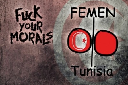 Femen Strikes in Tunisia – the Case of Amina | A Voice of Our Own | Scoop.it