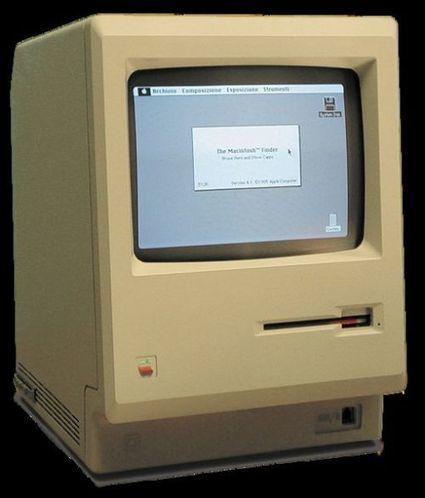 Pour ses 30 ans, un Macintosh 128 se souvient de sa jeunesse | Post-Sapiens, les êtres technologiques | Scoop.it
