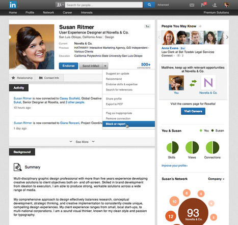 LinkedIn now lets you block other members | Association of Corporate Executive Coaches | Scoop.it