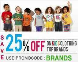 Latest Offer: Get Upto 50% off + upto 25% off On Kids Clothing | Shopping | Scoop.it
