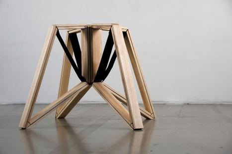 Gain more space with this incredible stool/Spin by Daphne Zuilhof | Du mobilier, ou le cahier des tendances détonantes | Scoop.it