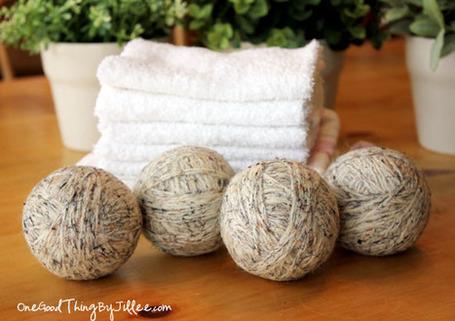 Save Time, Money, and Energy! Make Your Own Wool Dryer Balls | One Good Thing by Jillee | Homemaking | Scoop.it