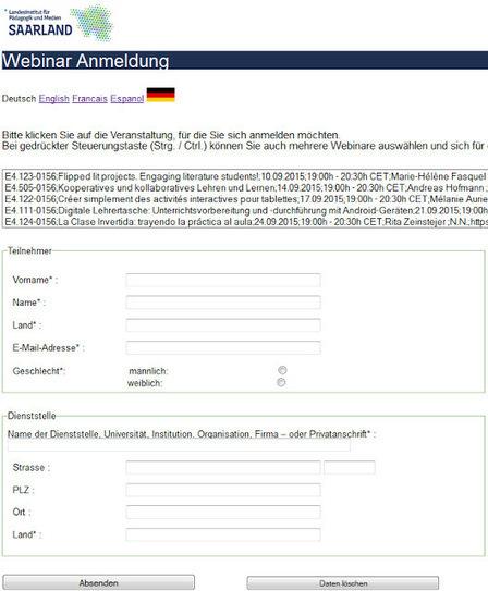 Globinars: Neue Anmeldung für unsere Webinare | Moodle and Web 2.0 | Scoop.it
