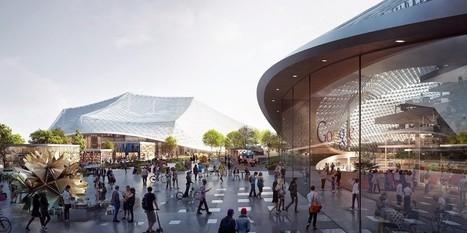Le futur campus de Google ressemble à un décor de science-fiction | Agence Smith | Scoop.it