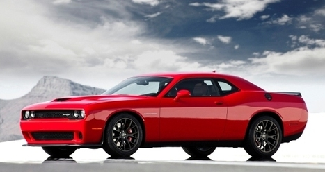Dodge Unleashes Most Powerful Challenger Ever: All-new 2015 Dodge Challenger SRT with 600-plus horsepower HEMI® Hellcat engine : driveSRT News   Dodge   Scoop.it